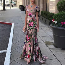 Load image into Gallery viewer, Fashion Sexy Printed Maxi Dress