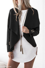 Load image into Gallery viewer, Fashion Lapel  Plain Jackets