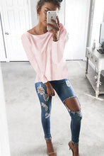 Load image into Gallery viewer, Cutout Round Neck Backless Hollow Details T-Shirts