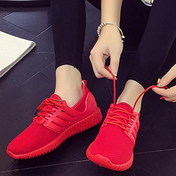 Breathable Mesh Sports Shoes