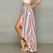 Load image into Gallery viewer, Bohemia Printed Split Beach Skirt