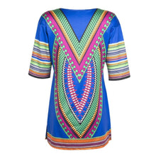 Load image into Gallery viewer, Classic Ethnic Style Printed Vacation Dress