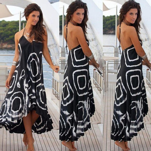 Women Loose Boho  Holiday Maxi-Dress
