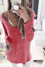 Load image into Gallery viewer, V Neck  Loose Fitting  Plain Sweaters