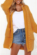 Load image into Gallery viewer, Loose Casual Long Knit Cardigan