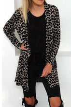 Load image into Gallery viewer, Snap Front  Leopard Printed Cardigans