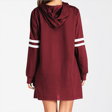 Load image into Gallery viewer, Fashion Hat Long Sleeve Casual Personality College Style Against The Color Joker Dress