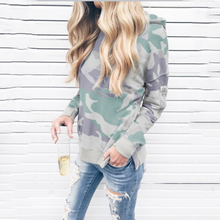 Load image into Gallery viewer, Fashion Camouflage Hoodie Sweatshirts