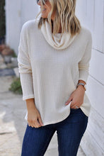 Load image into Gallery viewer, Cowl Neck  Plain T-Shirts
