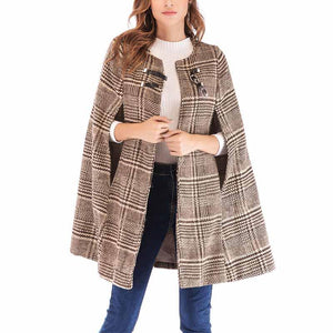 Fashion Turn-Up Collar  New Style Trench Coat