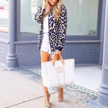 Load image into Gallery viewer, Leopard Printed Long Sleeve Casual Jackets