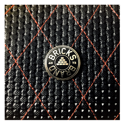 Bricks Brand Enamel Lapel Pin