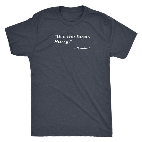 Image of Use The Force, Harry - Dark Shirt