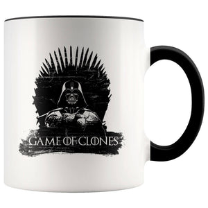 Game Of Clones - 11oz Accent Mug