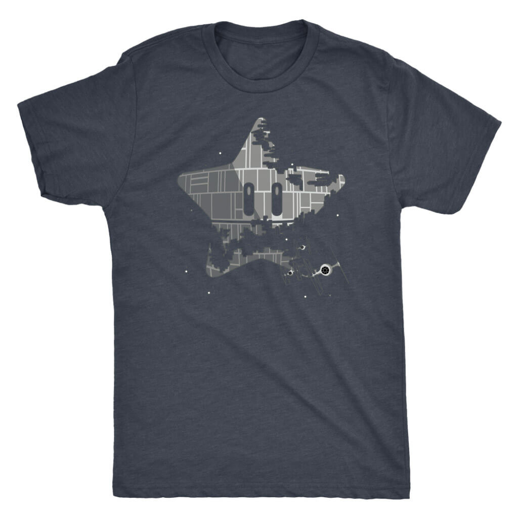 Super Death Star - Men's Dark Shirt
