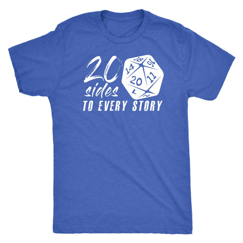 Image of 20 Sides To Every Story - Dark Shirt
