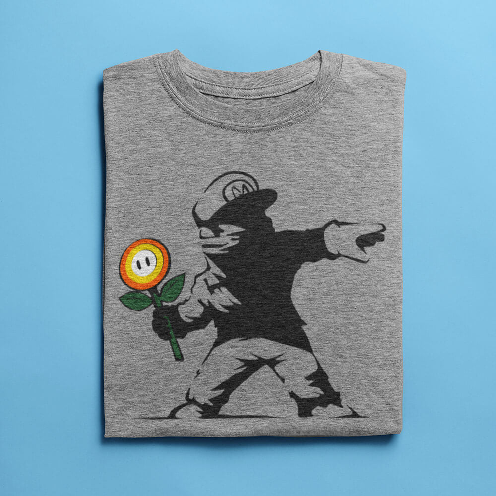 Rogue Mario - Men's Light Shirt