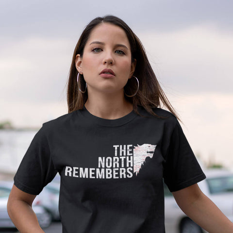 Image of The North Remembers - Women's Dark Shirt