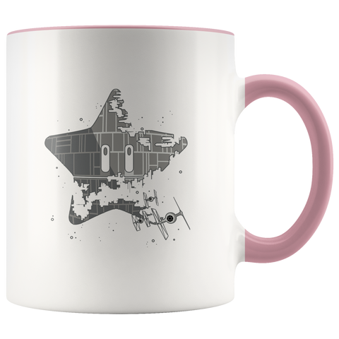 Super Death Star - 11oz Accent Mug