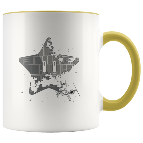Image of Super Death Star - 11oz Accent Mug