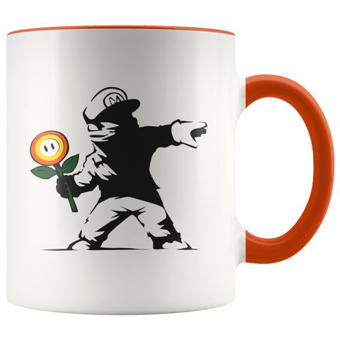 Image of Rogue Mario - Accent Mug
