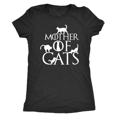 Image of Mother Of Cats - Dark Shirt