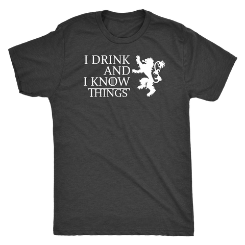 Image of I Drink And I Know Things - Dark Shirt