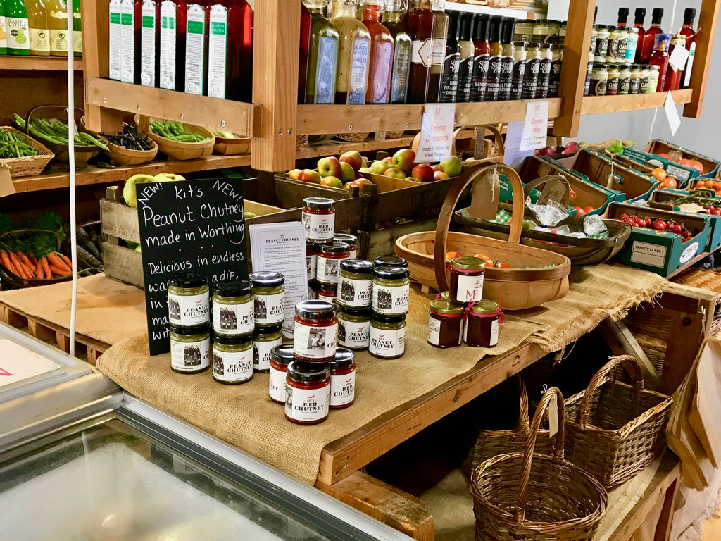 MIDDLE FARM, E. SUSSEX NOW STOCKING KIT'S RED CHUTNEY