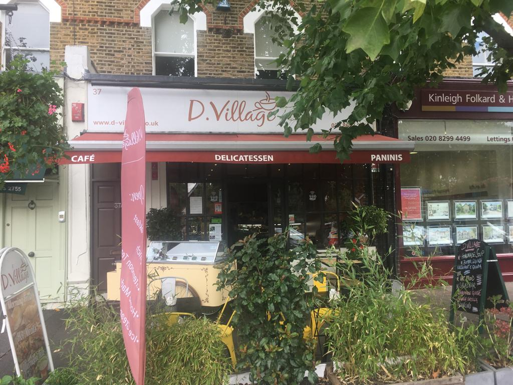 ONE OF OUR NEWEST STOCKIST IN LONDON - D-VILLAGE DELI, LONDON SE21