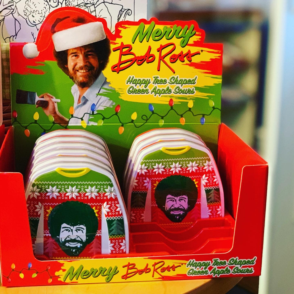 Bob_Ross_Green_Apple_Sour_Tin_Christmas_Sweater