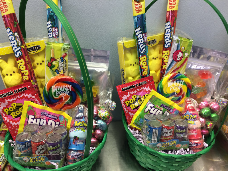 Easter Basket of Kid's Favorites