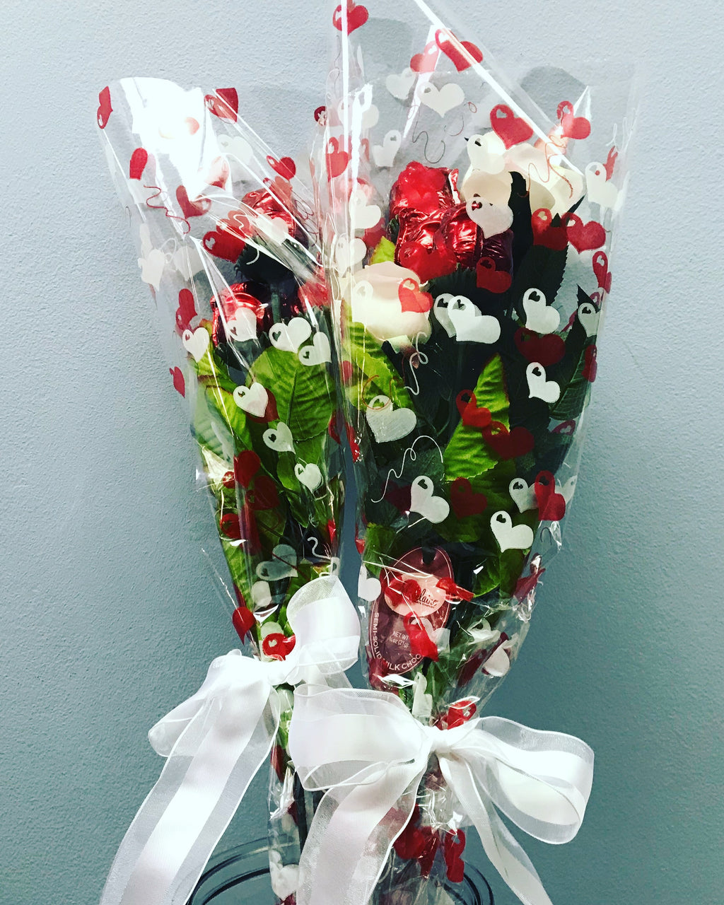 Milk Chocolate Roses Bouquet (includes 3)