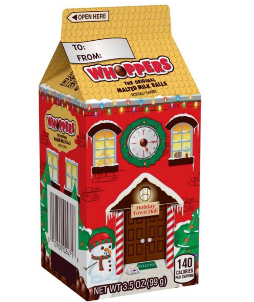 Whoppers Holiday Carton