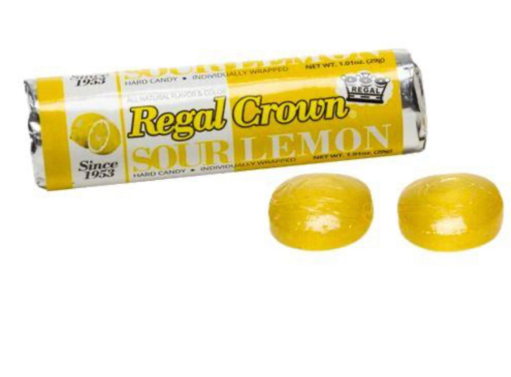 Regal Crown Sour Hard Candy