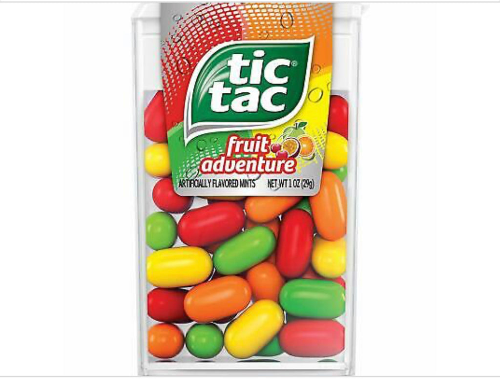 Tic-Tac Fruit Adventure