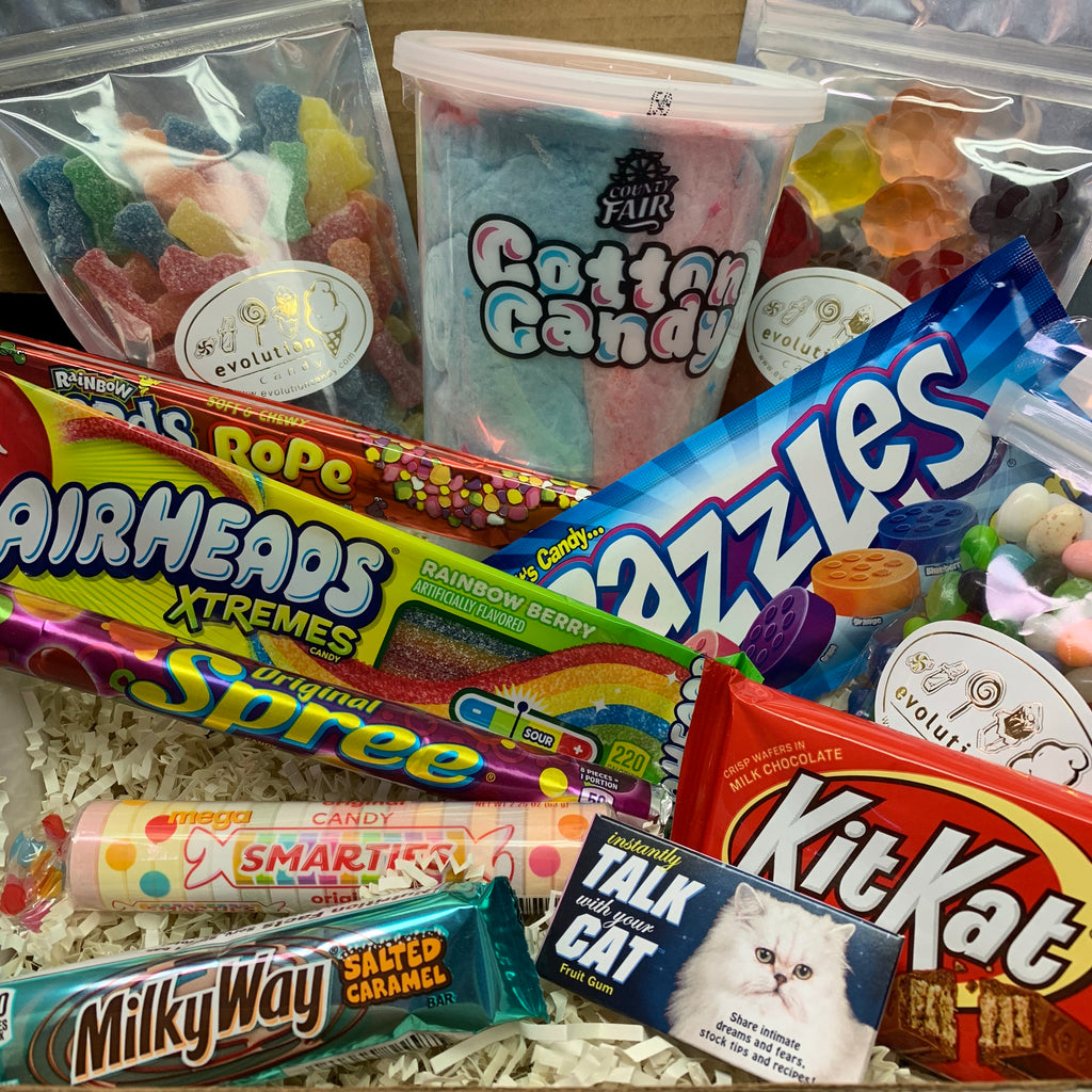 """Virtual Shopping"" Candy Box"