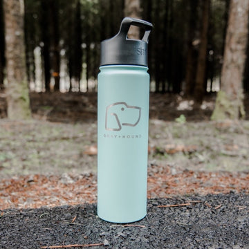 Hound Logo Water Bottle