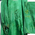 Load image into Gallery viewer, 023:00 Hand Dyed Silk Wrap Dress