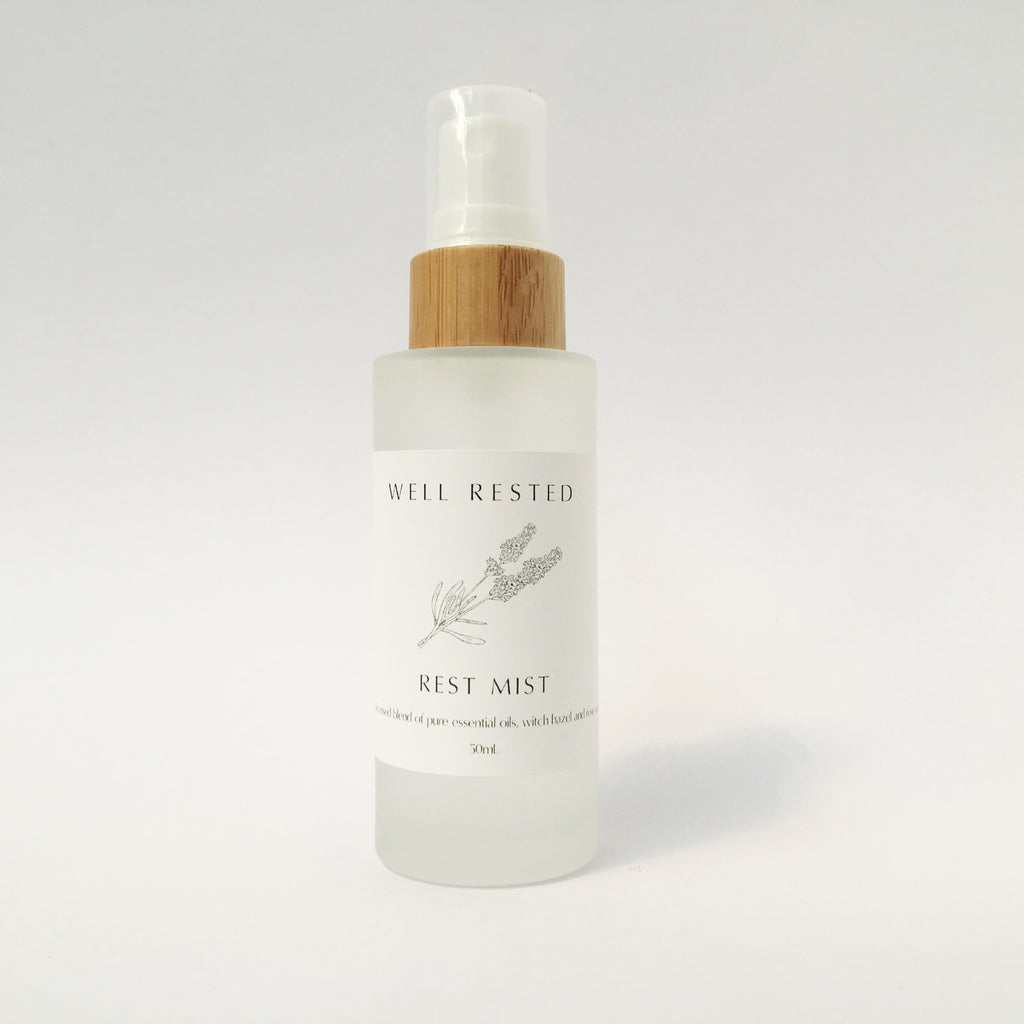 Rest Mist - Rose Geranium and Lavender