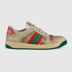 312c645541 Gucci Women's Screener Leather Sneaker Butter Leather