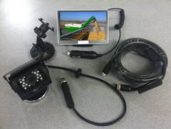 "Skid Steer or Skid Loader Camera  - 5"" Color Monitor #VWIC500"