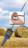 "HT-PRO Portable Hay Tester w/ Calibration Clip 20"" Probe"