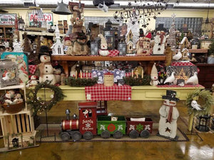 Winter Home Decor Country Primitive