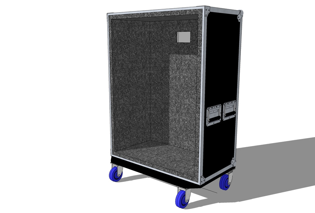 6x10 cab case live-in - Brady Cases - 1