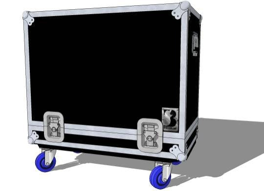 1x12 Lift Off Amp Case or Cab Case - Brady Cases - 1