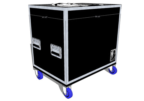 "Single 24"" Marching Bass Case"