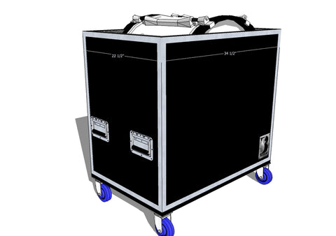 "Single 28"" Marching Bass Case"
