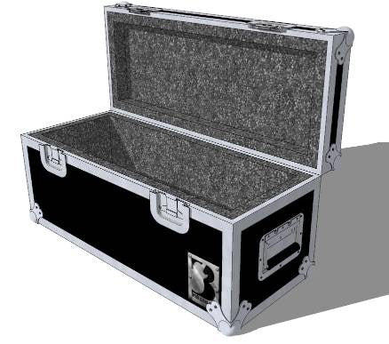 Drop-In Amp Head Case - Brady Cases - 2