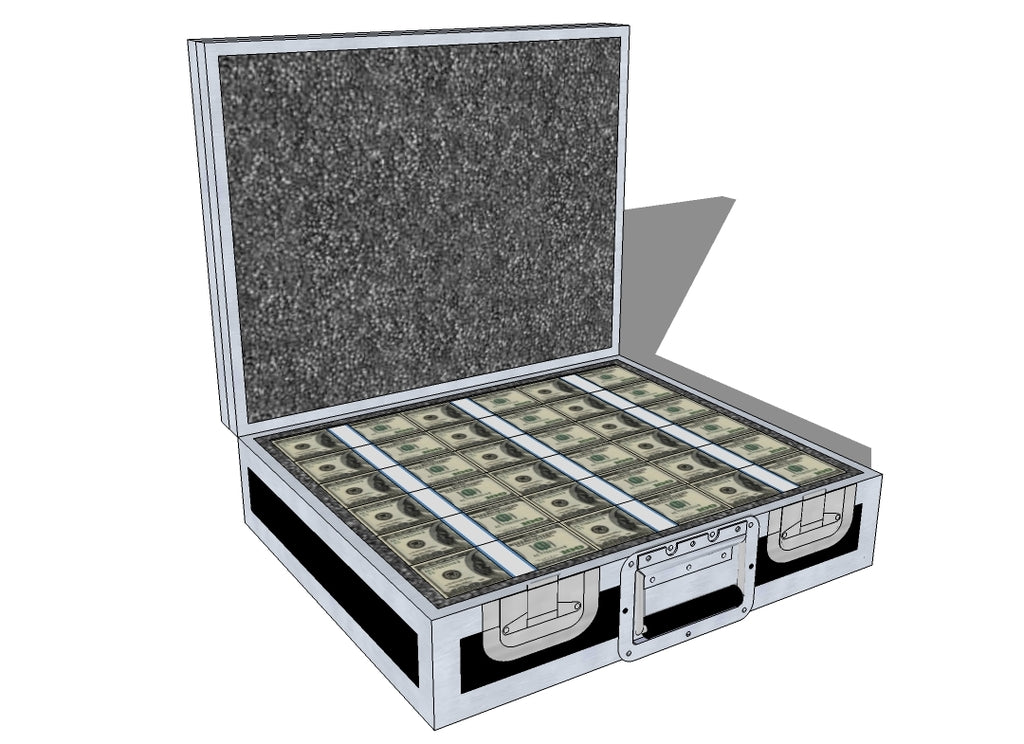 Case Of Cash - Brady Cases