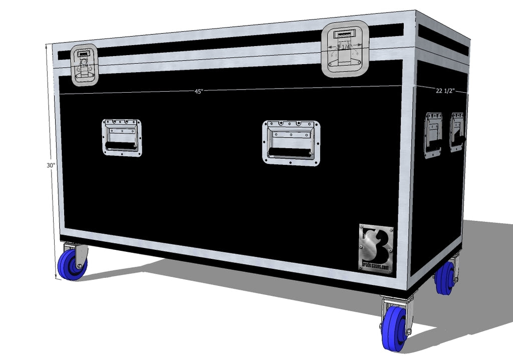 Trunk 1/2 Pack Truck Case Half Pack - Brady Cases - 1